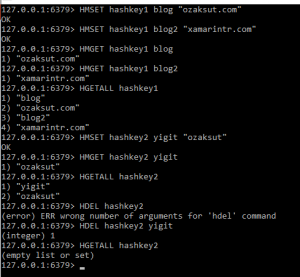 redis-hashes