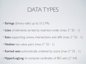Redis Data Types