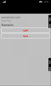 Xamarin Forms Dynamic Resource WinPhone