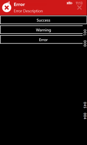 Xamarin Forms WinPhone Toasts Plugin