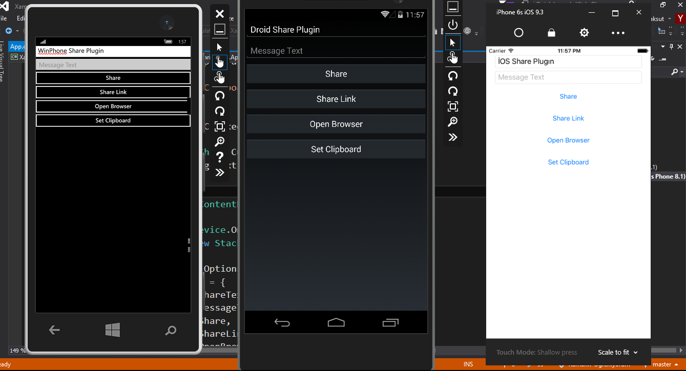 CrossPlatform Share Plugin