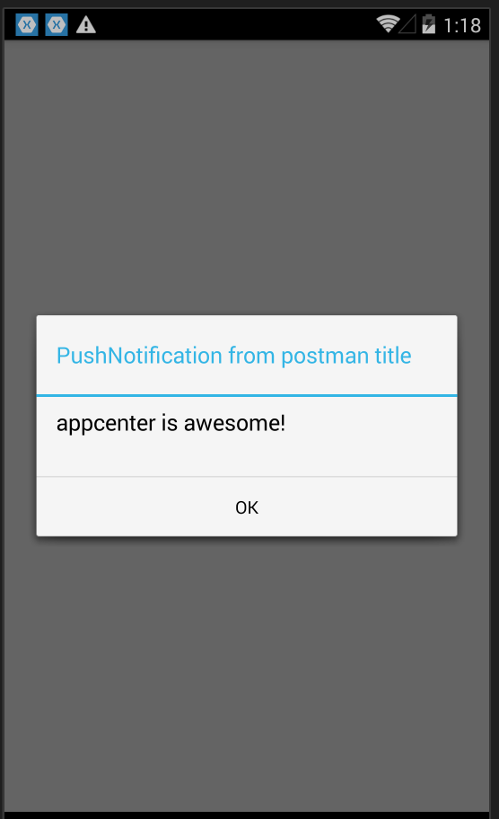 AppCenter Push Notification – Part 2 |